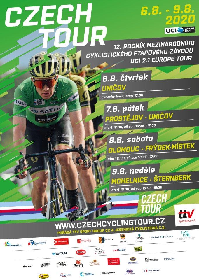 Plakat Czech tour 2020 1