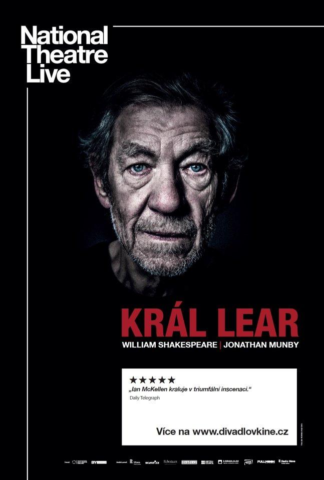 Plakat Kral Lear 1